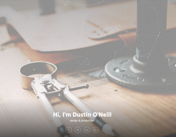 dustin o'neill personal site